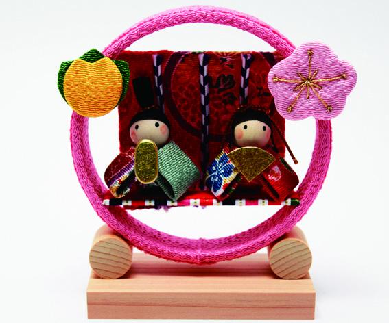 季節の輪飾り 雛